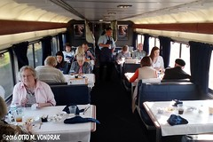 Amtrak Superliner Diner (ovondrak) Tags: amtrak diningcar superliner southwestchief train