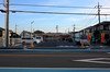 Day 354/366 : It's opened! (hidesax) Tags: 354366 itsopened convenience store seven eleven 711 street neighborhood wires houses ageo saitama japan hidesax leica x vario 366project2016 366project 365project