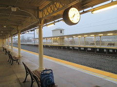 Lancaster Train Station 2017 PA 0541 (Brechtbug) Tags: lancaster train station january 22nd 2017 pa pennsylvania trains bus facade penna holiday with clock transportation architecture building railroad buses profile amtrak 01222017 commuting art waiting room platform tracks