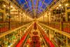 The Strand Arcade (satochappy) Tags: strandarcade sydney shoppingarcade victorianstyle australia bluehour christmastree symmetric christmas