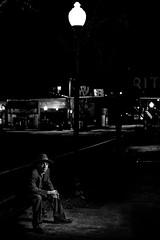 NOIR III (giladvalkor) Tags: noir suit hat blackandwhite bw monochrome alley 1940s 1950s cigarette smoking darkphotography shadows night creepy scary man contrast