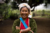Lady of the tribe (jamiethompson01) Tags: zeiss carl thailand december 55mm sony a7 mk2 18f 2016 chaing mai north trek hilltribe tribe jungle remote village town small sale buy gift flowers tibet refuge holiday hill mountain pang daeng nai