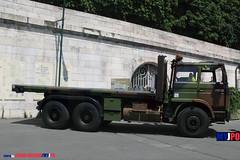BDQJ09-4508 RENAULT G290 VTL (milinme.myjpo) Tags: frencharmy renault g290 vtl véhicule de transport logistique remorque rm19 trailer bastilleday