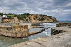 The Cornish coast at Charlestown (Baz Richardson (catching up again!)) Tags: cornwall charlestown coast cliffs harbours beaches