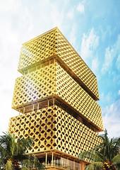 Башня от Hermann Kamte & Associates