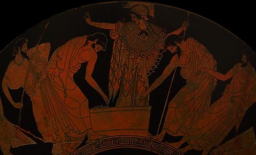 "Petteia - Ludus Latrunculorum  / Iconografía de las civilizaciones helenolatinas • <a style=""font-size:0.8em;"" href=""http://www.flickr.com/photos/30735181@N00/32143107310/"" target=""_blank"">View on Flickr</a>"