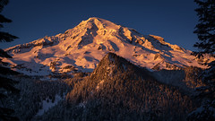 Above the Nisqually (writing with light 2422 [not pro}) Tags: mountrainier mountrainiernationalpark volcano stratovolcano sunset nisquallyvalley richborder sonya77 landscape washingtonstate thankgodforfourwheeldrive