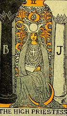 The High Priestess (~ Lone Wadi ~) Tags: tarot tarotcard blackmagic sorcery occult fortunetelling magic retro 1910s