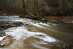 The River (canaanbarger) Tags: sony canon a7sii river longexposure outside outdoor water stream creek woods flowing landscape waterfall watercourse riverbed flickrfriday