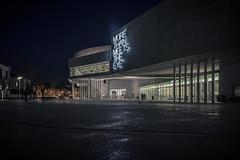 Night at the Museum (Icker_Malabares) Tags: nightatthemuseum maxxi rome museumofthe21stcenturyarts museo nazionale delle arti del xxi secoloarchitecturenight viewzaha hadid