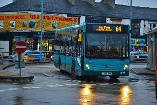 Arriva North East 4707 NK09BHY - Middlesbrough Bus Station