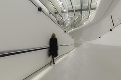 Espace (Stefania Pascucci) Tags: moving alone white maxxi selfportrait