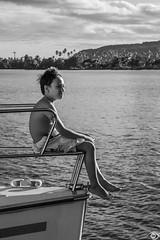 I am the king of the world (Au Bord des Yeux ◕◡◕) Tags: ocean sea sky mer france beach clouds canon ciel catamaran tahiti nuages bateau voile plage coucherdesoleil frenchpolynesia tahitian polynésiefrançaise tahitianwayoflife