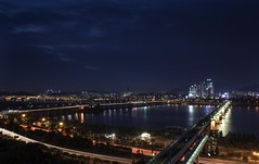 Tower View of Sonyudo and Hapjeong (Lig Ynnek) Tags: river seoul southkorea han towerview hapjeong sonyudo