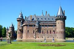 Haarzuilens, kasteel De Haar, Nederland 2015 (wally nelemans) Tags: holland castle nederland thenetherlands haarzuilens kasteel kasteeldehaar 2015 pierrecuypers castledehaar josephcuypers