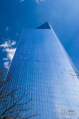 Into the sky (Pixi.St) Tags: newyorkcity usa newyork architecture america skyscraper worldtradecenter wolken architektur wtc amerika 4wtc