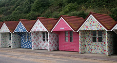 Pretty Huts All in a Row (Canis Major) Tags: patterns dorset colourful seafront bournemouth beachhuts cathkidston