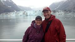 Fred & Laura in Glacier Bay