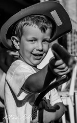 Litle Firefighter (klokkwa) Tags: baby smile blackwhite model mood photographer firefighter acqua ridere pompiere babymodel lovephoto