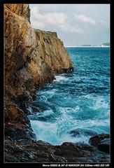 DSC_2779 (YKevin1979) Tags: sea hongkong nikon g wave coastline nikkor   f4 vr afs hongkongisland d600  24120mm 24120 zoomnikkor  capedaguilar capedaguilarmarinereserve
