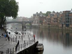 a rainy day in York (Judy **) Tags: york greatbritain england rain river ouse regen engeland rivier 2015 grootbrittanni