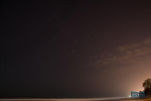 Fotografia nocturna en Santa Teresita Buenos Aires, Argentina