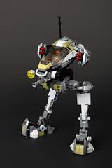 Amano Heavy Industries - Cyrrex Class Mech (TOKYO TAG TEAM) Tags: lego walker black mech mecha