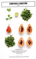 Zumo para la digestíon (sucsverds) Tags: ferngreen zumo terroso papaya colrizada pera menta limónverde es fd ai