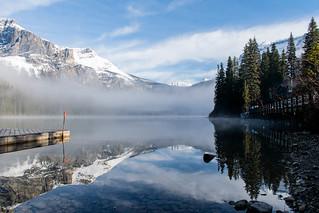 Emerald Lake (British Columbia). Canada.