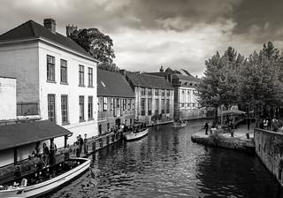 Canal trip, Bruges, Belgium