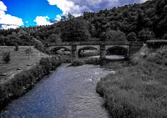 La Sioule #1 (kahem54) Tags: lasioule rivière eau pont