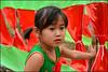 Red.    Ba Be Lake (Claire Pismont) Tags: asie asia viajar voyage village vietnam vietnammars2016 girl red green babelake kid child pismont clairepismont colorful couleur color colour portrait