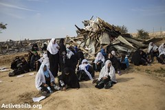 House demolition, Umm Al-Hiran, Negev, 18.1.2017 (Activestills) Tags: negev israel bedouins house demolition women debris naqab ummalhiran displacement prawerplan palestinians48 housing topimages faizaburmeleh
