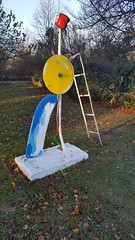 Half Stepping Hot Stepper 2016, Eddie Martinez, Frieze Sculpture Park 2016, Regent's Park, Westminster and Camden, London (f1jherbert) Tags: samsunggalaxys6 samsunggalaxy samsungs6 galaxys6 samsung galaxy s6 london england