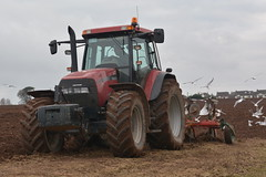 Case IH MXM 155 Pro Tractor with a Kverneland 4 Furrow Plough (Shane Casey CK25) Tags: case ih mxm 155 pro tractor kverneland 4 furrow plough cnh casenewholland red midleton ploughing turn sod turnsod turningsod turning sow sowing set setting tillage till tilling plant planting crop crops cereal cereals county cork ireland irish farm farmer farming agri agriculture contractor field ground soil dirt earth dust work working horse power horsepower hp pull pulling machine machinery nikon d7100 traktor tracteur traktori trekker trator ciągnik