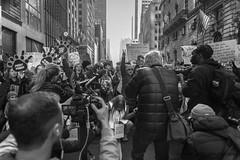 Women's March NYC (Tom Kavana) Tags: bw blackandwhite bwnyc protest march people monochomatic nyc newyorkcity womensmarchnyc