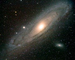 Andromeda Galaxy (Andrew@Astrofarm) Tags: astronomy astrophotography astrofarm altair astronomynow andromeda dark gas galaxy nature water darkskies nebula constellation space france ed80 red deep m31 m32 blue