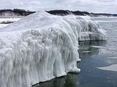 Iceberg (SpringChick) Tags: winter cold ice michigan lakemichigan greatlakes iceberg icy muskegon muskegoncounty springchickfb