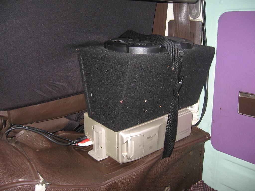 Rear Speakers & CD Stacker