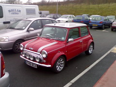 Cool Mini Cooper 500 (Z303) Tags: car cool mini cooper