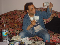 forgery :D (Becem) Tags: me egypt dollar passport forgery falsification