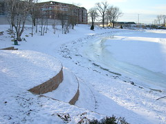 Park in Winter (Tracy777) Tags: park winter snow frozenlake