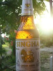 Singha Beer by