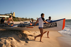 Surf boat trial run, North Cottesloe (musengs) Tags: ocean beach cottesloe surfclub surflifesavers northcottesloe surfboat boaties