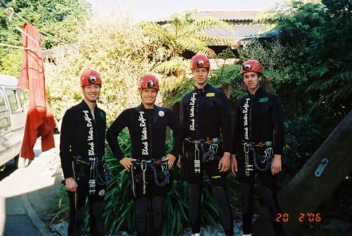 Black Abyss team, Waitomo