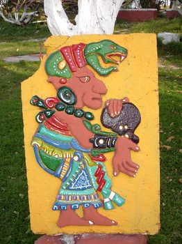 Mayan God of Fertility