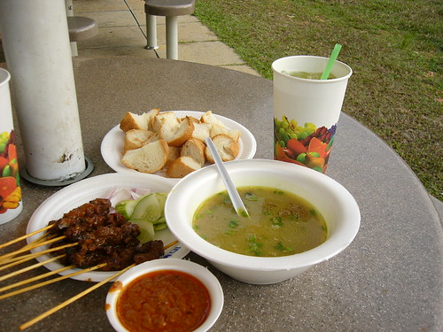 Kambing soup & satay @ east coast
