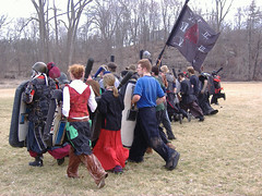 The Militia (mornathedark) Tags: militia larp dagorhir foamfighting