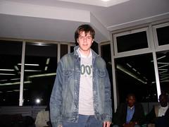 Me, Casablanca Airport