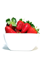 Just Strawberries (Craig Richardson) Tags: fruit dessert strawberry strawberries whitebackground